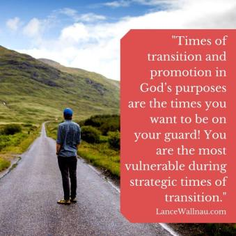 Lance on transition